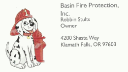 Basin Fire Protection
